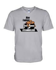 New England Steamrollers V-Neck T-Shirt thumbnail