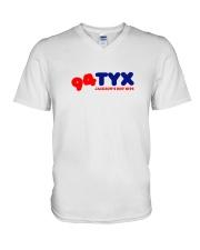 WTYX 94-7 Jackson Mississippi V-Neck T-Shirt thumbnail