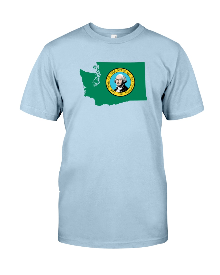 State Flag of Washington Classic T-Shirt
