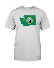 State Flag of Washington Premium Fit Mens Tee thumbnail