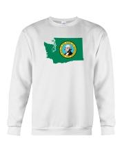 State Flag of Washington Crewneck Sweatshirt thumbnail