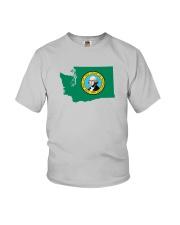 State Flag of Washington Youth T-Shirt thumbnail