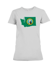 State Flag of Washington Premium Fit Ladies Tee thumbnail