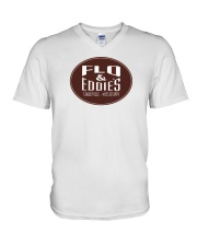 Flo and Eddie's - Starkville Mississippi V-Neck T-Shirt thumbnail