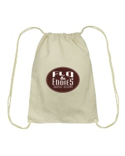 Flo and Eddie's - Starkville Mississippi Drawstring Bag thumbnail