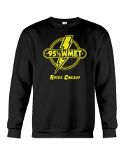 WMET - Chicago Illinois Crewneck Sweatshirt tile