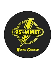 WMET - Chicago Illinois Circle Coaster tile