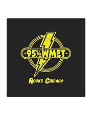 WMET - Chicago Illinois Square Coaster tile