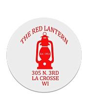 The Red Lantern - La Crosse Wisconsin Circle Coaster thumbnail