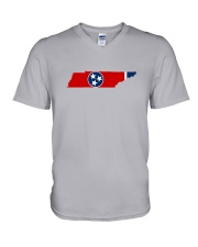 The State Flag of Tennessee  V-Neck T-Shirt thumbnail