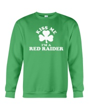 Kiss Me I'm a Red Raider Crewneck Sweatshirt thumbnail