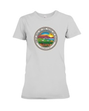 Great Seal of the State of Kansas Premium Fit Ladies Tee tile