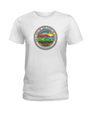 Great Seal of the State of Kansas Ladies T-Shirt thumbnail