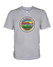 Great Seal of the State of Kansas V-Neck T-Shirt thumbnail