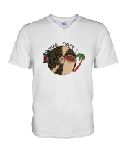 The Dock Rocker - Ridgeland Mississippi V-Neck T-Shirt thumbnail