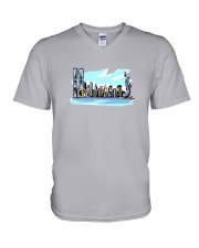 New York City - New York V-Neck T-Shirt thumbnail