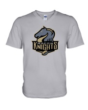 Macon Knights V-Neck T-Shirt thumbnail