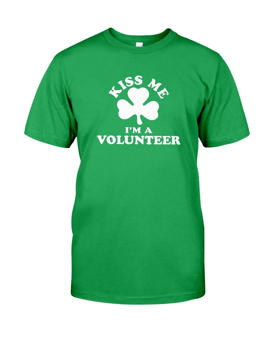 Kiss Me I'm a Volunteer Classic T-Shirt