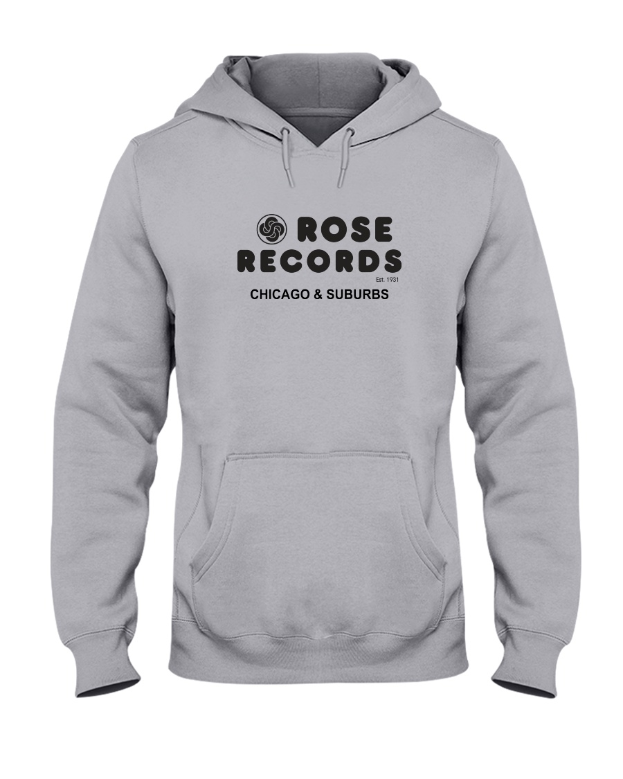 Rose Records Hooded Sweatshirt