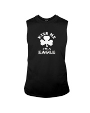 Kiss Me I'm a Eagle Sleeveless Tee thumbnail