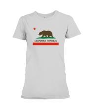 State Flag of California Premium Fit Ladies Tee thumbnail