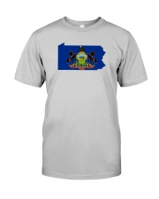 State Flag of Pennsylvania Classic T-Shirt front