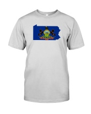 State Flag of Pennsylvania Premium Fit Mens Tee thumbnail