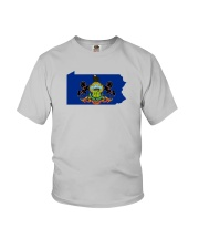 State Flag of Pennsylvania Youth T-Shirt thumbnail