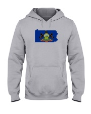 State Flag of Pennsylvania Hooded Sweatshirt thumbnail