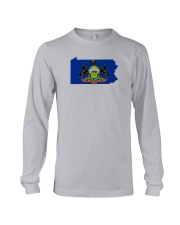State Flag of Pennsylvania Long Sleeve Tee thumbnail