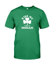 Kiss Me I'm a Indian Premium Fit Mens Tee tile