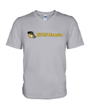 South Bend Silver Hawks V-Neck T-Shirt thumbnail