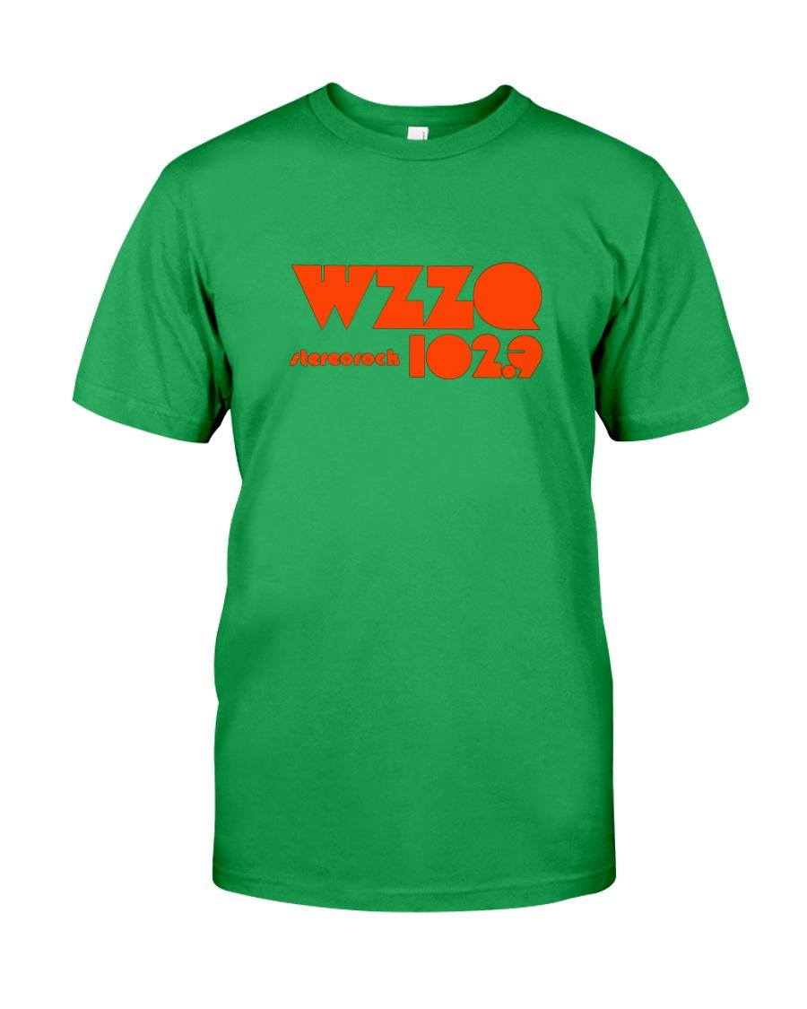 WZZQ 102 Stereo Rock Classic T-Shirt