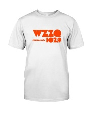WZZQ 102 Stereo Rock Classic T-Shirt front