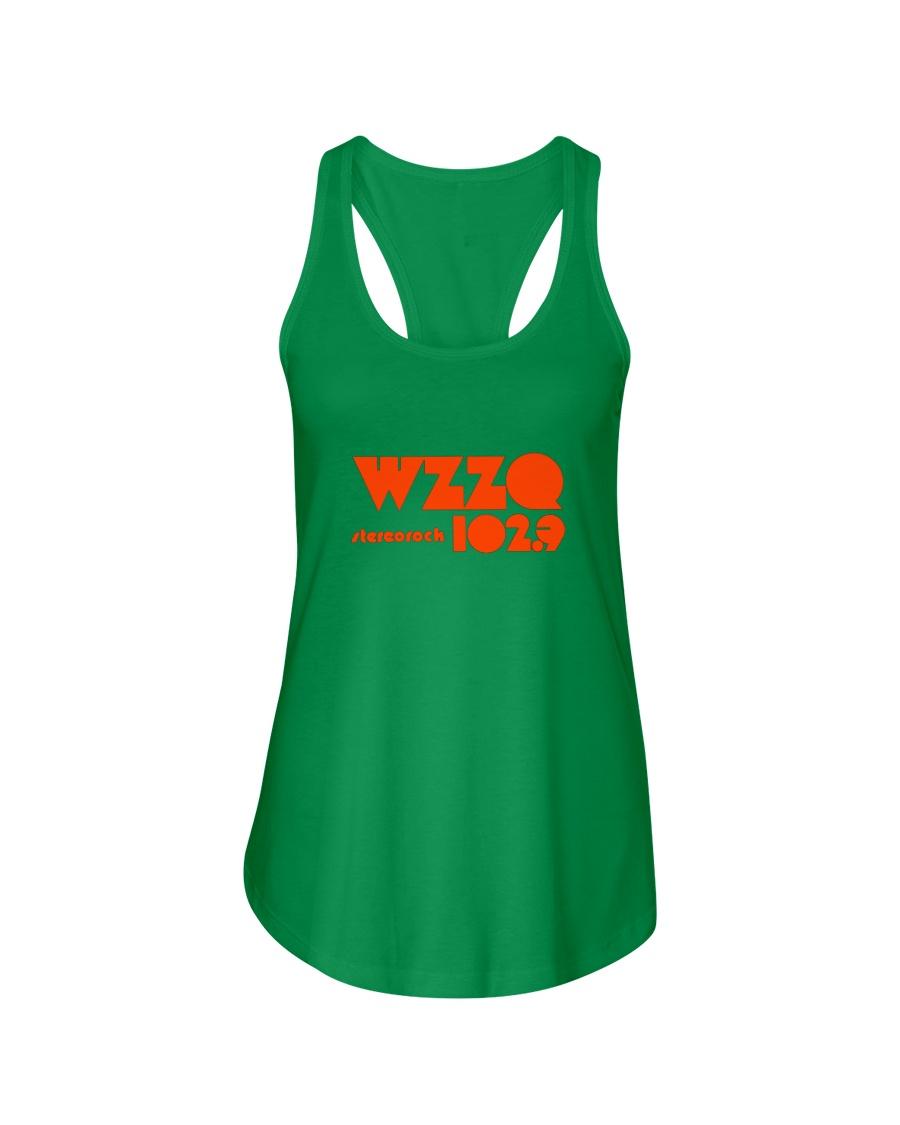 WZZQ 102 Stereo Rock Ladies Flowy Tank