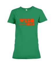 WZZQ 102 Stereo Rock Premium Fit Ladies Tee thumbnail