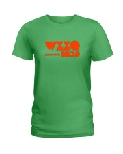 WZZQ 102 Stereo Rock Ladies T-Shirt front