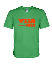 WZZQ 102 Stereo Rock V-Neck T-Shirt thumbnail