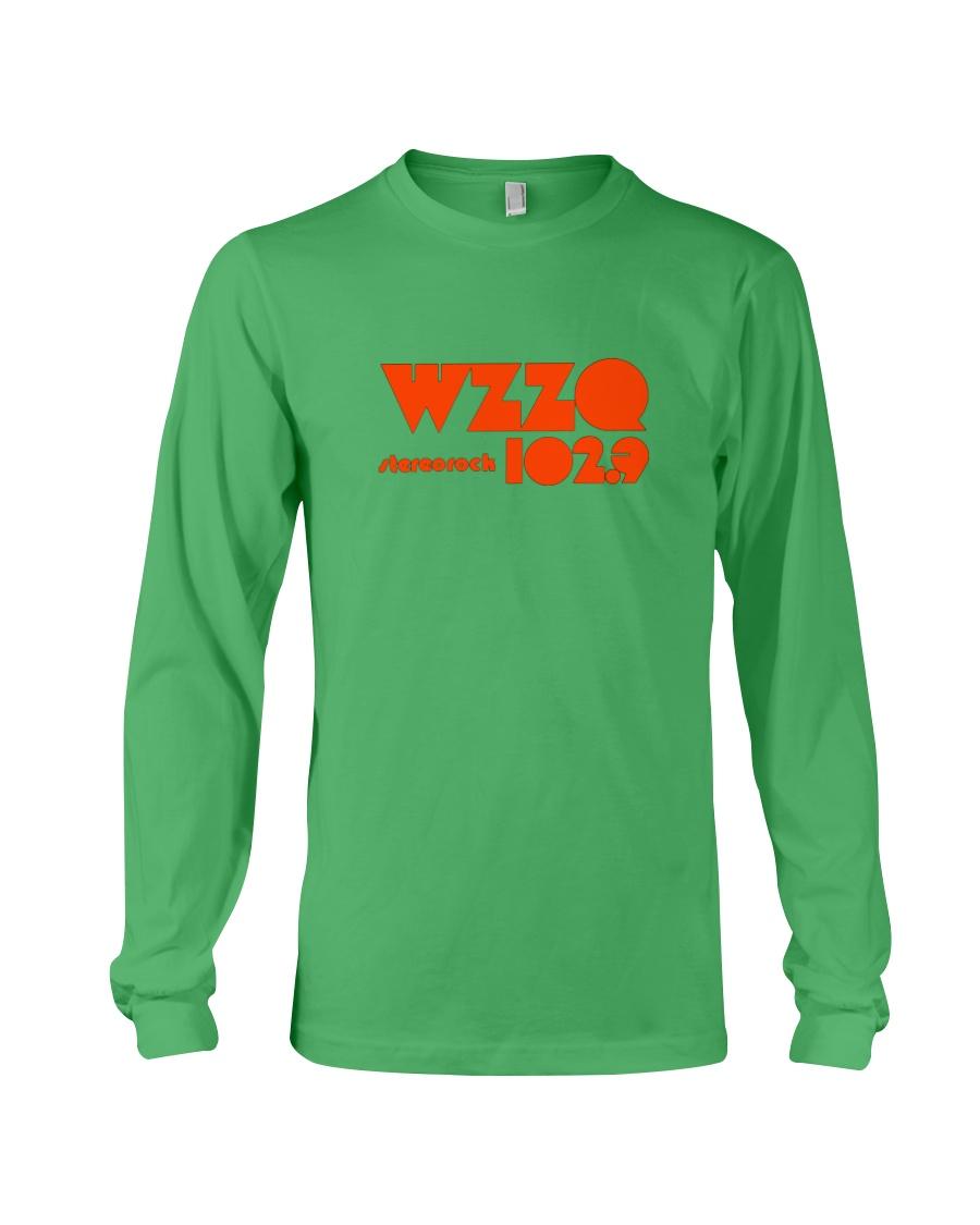 WZZQ 102 Stereo Rock Long Sleeve Tee