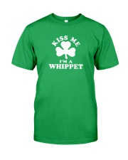 Kiss Me I'm a Whippet Classic T-Shirt front