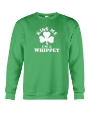 Kiss Me I'm a Whippet Crewneck Sweatshirt thumbnail