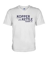 Kopper Kettle - Auburn Alabama V-Neck T-Shirt thumbnail