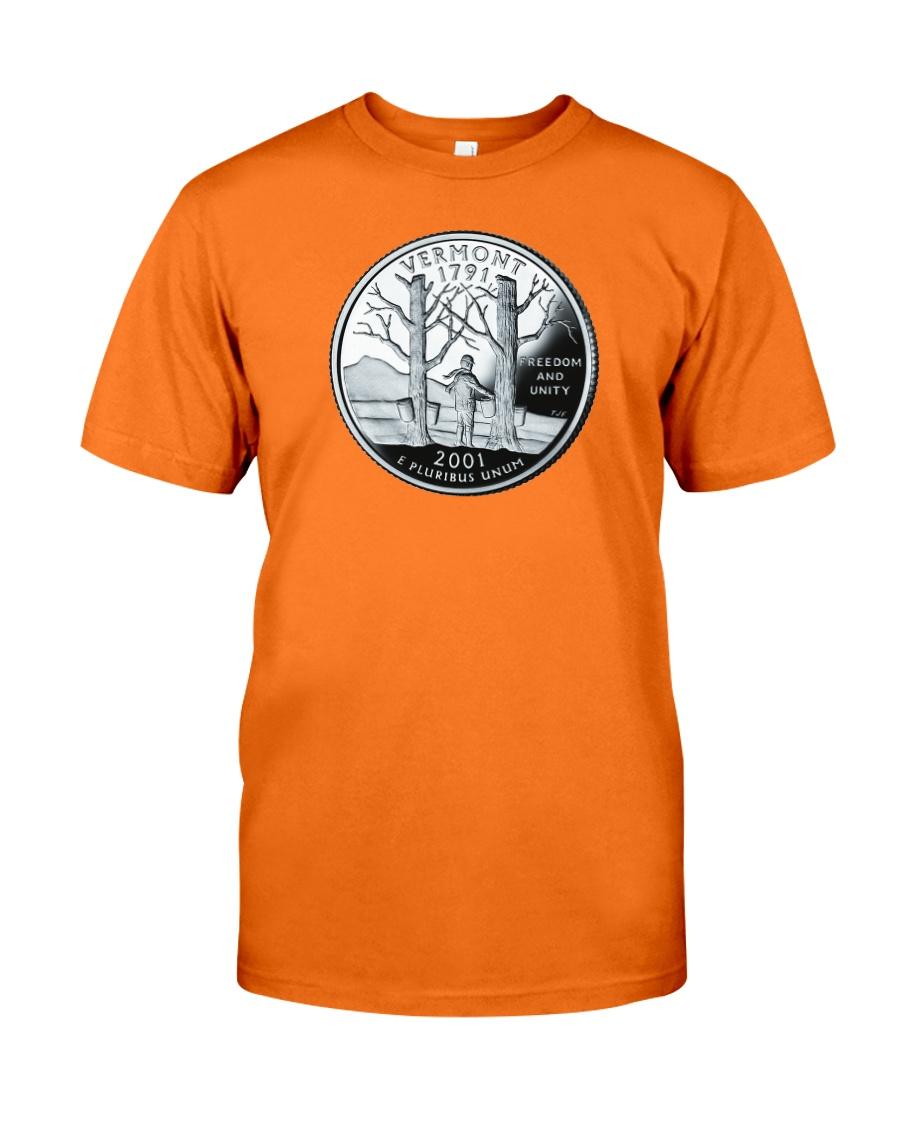 US Quarter - Vermont 2001 Classic T-Shirt
