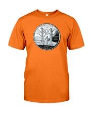 US Quarter - Vermont 2001 Classic T-Shirt front