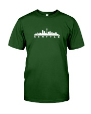 The Seattle Skyline Classic T-Shirt front