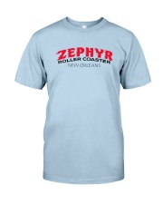Zephyr Roller Coaster - New Orleans Louisiana Classic T-Shirt front