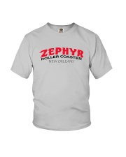 Zephyr Roller Coaster - New Orleans Louisiana Youth T-Shirt thumbnail