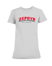 Zephyr Roller Coaster - New Orleans Louisiana Premium Fit Ladies Tee thumbnail