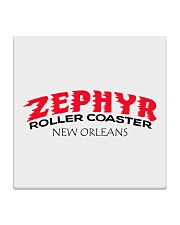 Zephyr Roller Coaster - New Orleans Louisiana Square Coaster thumbnail