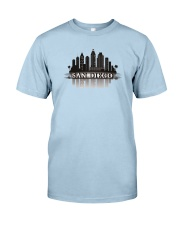The San Diego Skyline Classic T-Shirt thumbnail
